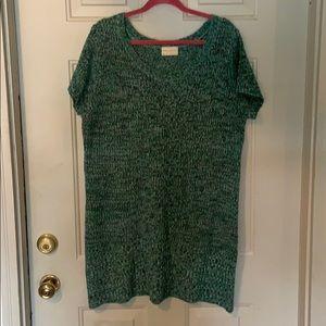 Women's sweater tunic